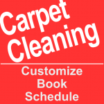 Book a carpet cleaning service online