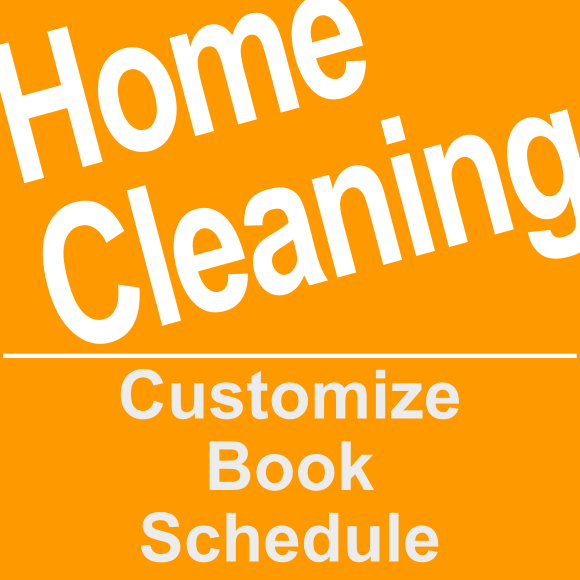 Book a home cleaning service online