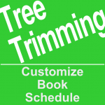 Book a tree trimming service online