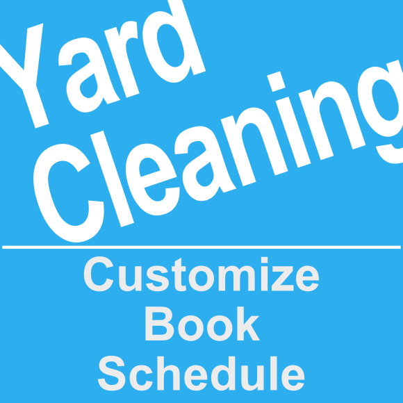Book a yard clean up service online at Provingo.com